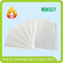 clear A4 size PP sheet protector