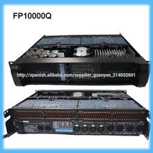 amplificador de sonido estéreo fp10000q profesional