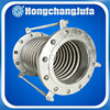 welded flange type telescopic reinforced stainless steel bellow expansion joint