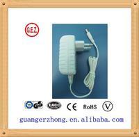 high quality ce ul ccc saa Certificate 100v 240v 50 60hz 24v ac power adapter