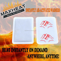 2015 Disposable Instant Hot Pack/Heat Pad/Body Warmer/Pain Relief Patch Wellness