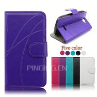 factory price leather phone cover for samsung galaxy s4 mini i9190 i9192 case