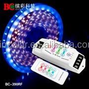 8A*3CH Touch key smart RGB Controller RF remote control led rgb strip controller