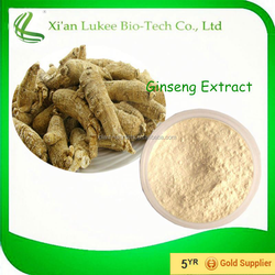 Ginseng Ginsenosides 80%/ Korean Red Ginseng Extract/ Panax Ginseng C.A.Meyer