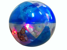 LED light pvc ball,inflatable beach ball with led light,led beach ball