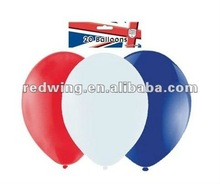 Pack of 20 Red/White/Blue Latex Balloons