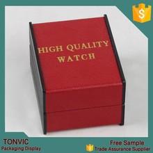 custom design cheap watch storage box packaging wholesale