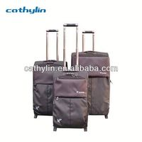 Perfect Design Polyester Luggage And Beauty Case Set