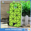 Fantastic triangle design pc silicone phone case for samsung galaxy s4 with night light silicone