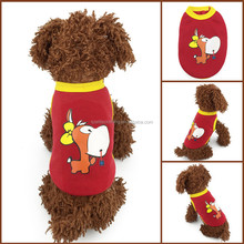 2015 Wholesale Hot sell dog clothes dog t-shirt pet clothes dog apparel