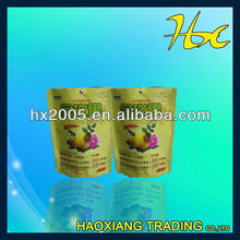 foil lined paper food packaging bag packing for tea