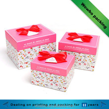 Custom Made Popular Birthday Gift Box for Girls