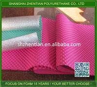 Aluminum Foil Backed wave EVA Foam insulation /Heat insulation EVA Foam mat