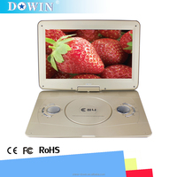 Great 14.1 Inch LCD Screen Digital Multimedia Portable DVD with Card Reader USB Port Support TV Game Support SD MS MMC Card