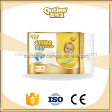 2015 Popular Disposable Dry Sleepy Wet Indicator Baby Diaper For Worldwide Selling