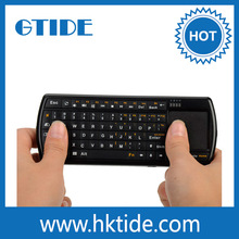 portable 2.4g mini wireless keyboard with touchpad for samsung smart tv keyboard