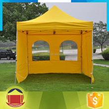 1.5x1.5m outdoor folding gazebo garden tent with window wall