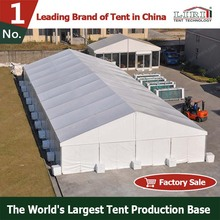 Temporary Prefabricated PVC Warehouse Storage Tent Building with Sidewall