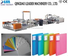 PP/PE packing printing stationery plastic sheet machine
