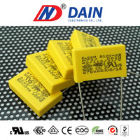 Interference suppression capacitors for class x2 0.22uf 275vac