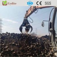 Orange Peel Steel Scrap Grab Metal Grab for 35T excavator
