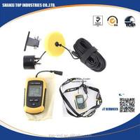 Portable Fish Finder Depth Sonar Sounder Alarm Transducer Fishfinder