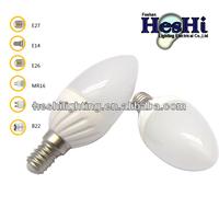 super bright glass 4w led led cob bulb E14