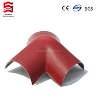 PVC plastic roof tile/Light weight roof tile/Spanish roof tile