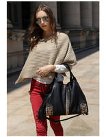 2015 new product women leather handbag with catalogs