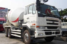 Nissan UD 6*4 concrete mixer truck 6~12CBM