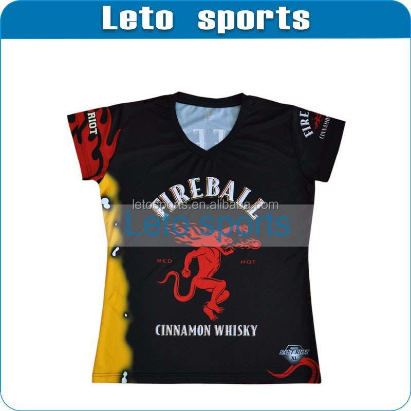 Quick dry dye sublimation t shirt printing plus size for Cheap quick t shirt printing