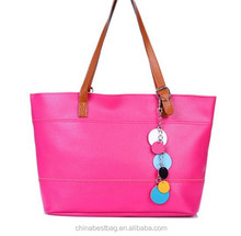 Wholesale Cheap Tote bag With Beautiful Accessories Ladies Handbags