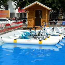 funny water wheels sea bikes inflatable Water Bikes Water Bicycle