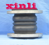 Double sphere flanged rubber expansion joints with factory low price