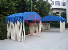 galvanized Iron frame folding car tents for outdoor trade show