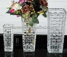 New Arrival crystal glass vase for home decoration(R-1468)