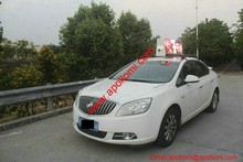 scrolling message photo advertisement taxi roof P5mm led billboards