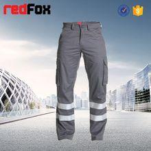 Seguridad de carga de trabajo pintores pantalones con bolsillos