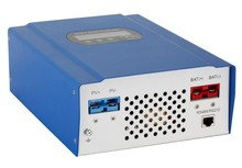 max 96v LCD and LED display RS232/LAN mppt solar charge controller