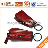 high quality PU leather promotion leather key chain