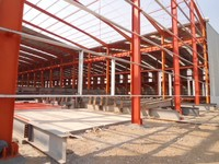 Prefabricated/Artistic/Steel Structure Warehouse for Storing Products1138