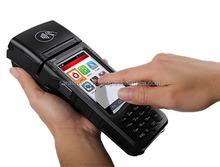 3G, Barcode reader, MSR, Contact card, NFC card, Thermal Printer Mobile POS Terminal