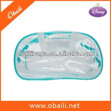 Clara del pvc bolso cosmético, venta al por mayor de cosméticos bolsas de plástico transparente