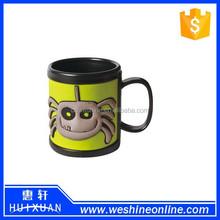 plastic ABS animal 3d PVC cute lovely mark cup/ mug