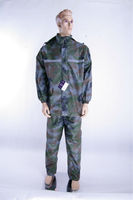 Promotional clear plastic rain suit 2014 hot