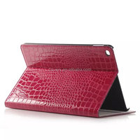 Crocodile leather pouch purse case for ipad air 2