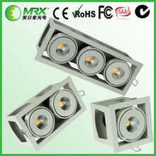 For indoor and hotel bedroom and store used 20W 40W 60W dimmable led downlight cob
