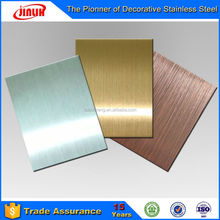 Seaside Class Hairline SUS 304 Stainless Steel Plate 3mm Thickness Price per Kg