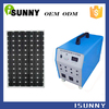 solar pv power system 100w solar battery charger with asapter 4pcs