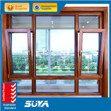 Alibaba Trade Assurance Golden Supplier High Quality Wooden and aluminium tilt and turn Window